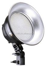 Tolifo Phantom 380 bright LEDs dimmable daylight 5600K on camera LED light panel round LED light for camera camcorder shooting