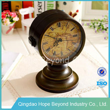 Vintage double side clock wholesale art and craft supplies gift and craft