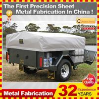 Kindle travel trailers for motorcycles,with OEM service