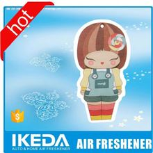 new products with best quality paper air fresher for car