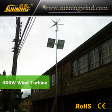 Support CE 400W china cheap home free energy generator & small wind turbine