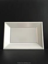 230*330mm Decorative Plastic Square Plate Disposable