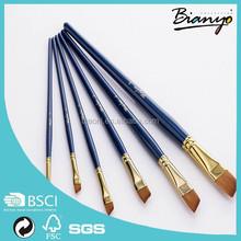 Professional 6 pcs artist watercolor painting brushes set