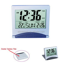 Travel digital alarm clock for office desk gift items