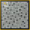 China white &italy grey #yellow beige& emperador light marble mosaic tile