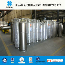 GB5909 Standard 175L Hot Selling Cryogenic Industrial Gas Tank Welding Thermal-Insulating Liquid Nitrogen Dewar Container