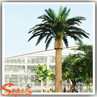 artificial palm trees manufacturer wholesale outdoor lighted plastic artificial palm trees