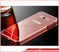 High Quality luxury vogue moblie phone aluminum metal case for Samsung galaxy A 7
