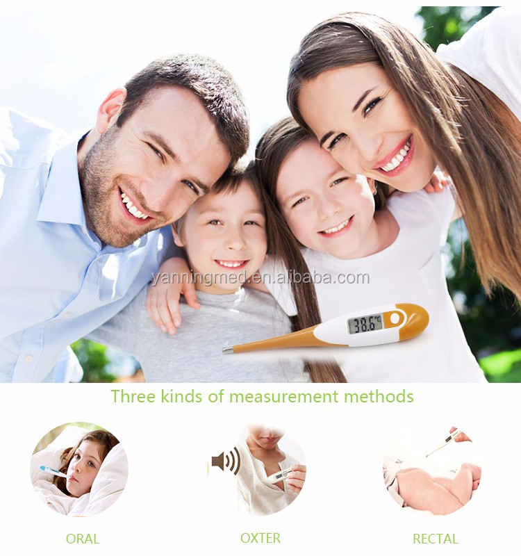 High quality oral thermometers,temperature sensor clinical digital thermometer,basal thermometer for ovulation