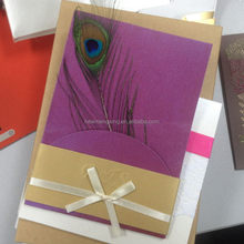 Top grade branded 2015 hot sale exquisite wedding card
