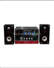 Hot seller active 2.1 channel loudspeaker box USB SD jack in Sub woofer