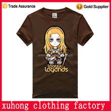 Promotional Top Quality 100 cotton Design t -shirts
