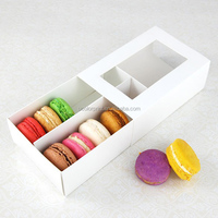 Dongguan macaroon packaging cookie box