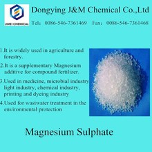 White crystal and powder Magnesium sulphate heptahydrate Mgso4 7h2o