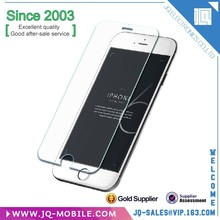 Wholesale Mobile phone accessory 4.7 inch tempered glass screen for Apple iphone 6