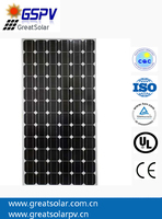 NANJING GSPV SOLAR PRODUCTS: Monocrystalline silicon solar panels 300W, 24V solar power system for off and on grid installation