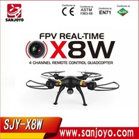 SYMA Explorers X8W FPV Wifi Control Mode Upgraded X8C with 6-Axis Gyro 2MP 720P RC Quadcopter Drone