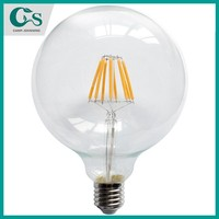 2014 High lumens 8w G125 led filament bulb