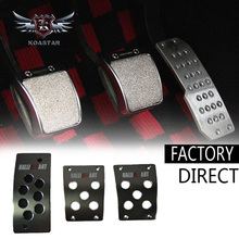 venta al por mayor de alta calidad de aluminio ralliart esterasdecoches del pedal