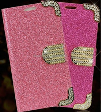 New Cheap Glitter powder Mobile Phone Case for Samsung