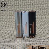 Top on sale!! Kepler 2015 new vape mod e cig mod Bull-X mod with newest design !