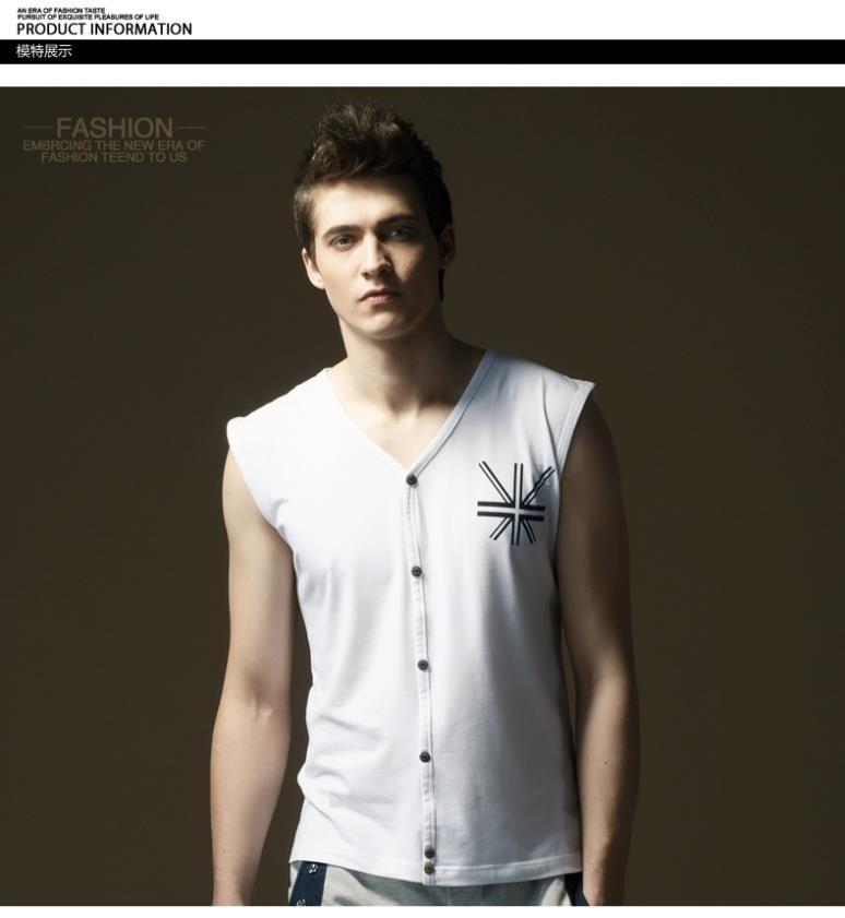 men vest model show