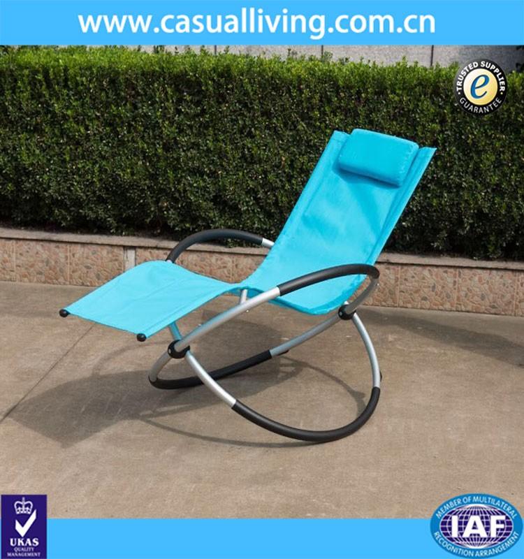 Fun pliage z ro gravit vague chaise longue ronde cadre for Chaise 0 gravite