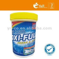 2015 new design antibacterial oxy stain remover powder with spoon