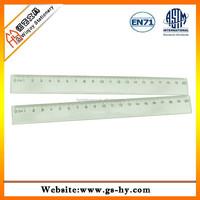 Transparent 20cm plastic ruler for promotion
