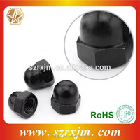 steel hex. nuts processing high tensile fastener cap nut