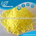 De color amarillo brillante materia prima azufre en polvo para de goma 20% SC 7704 - 34 - 9