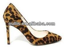 de tacón alto sexy 2014 las mujeres al por mayor zapatos de leopardo py2781 calzado