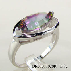Wholesale Cheap Fashion Jewelry, Silver Wedding Ring, Bulk Fashion Jewelry China