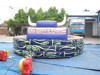Digital printing Bull horn inflatable mechanical game for playground