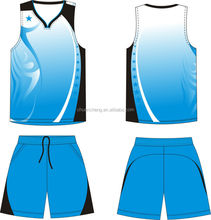 2014 new design basketball jersey styles (blue)