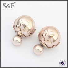 Latest Design Popular Zircon cartoon earrings