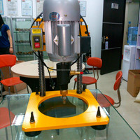 Vertical hand electric glass drill machine