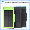 Waterproof Solar Power Bank 8000mah,Solar mobile charger,Waterproof Solar charger 8000mah