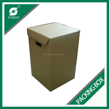 LARGE SIZE PLAIN CORRUGATED ARCHIVE PACKING CARTONS PAPER MOVING POSTAL BOX WITH CUSTOM PRINT