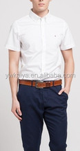 2015 YIWU KAIYA button down short shirt Formal shirt formal uniform designs for men new business