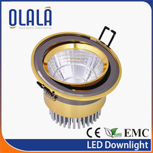 white hotel SAA high luminous 12w led downlights saa approved
