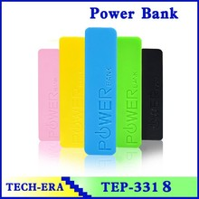 Easy carry 2600mah Rechargeable Portable Power Bank with Usb cable / perfumepower for Iphone, gift promotional for girls, Kids
