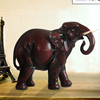 Turkey Handmade Antique Resin Animal Figurine Big Elephant Decoration With Brown Red For Home Decorating Folk Arts And Crafts