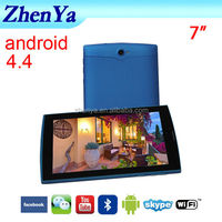 Good Quality 7 Inch Tablet With Removable Battery, Tablet 7 Inch With GPS,Bluetooth,FM,Two Cameras