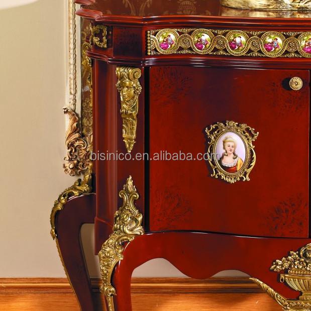 Franse barok stijl woonkamer houten kast/reproductie antieke ...