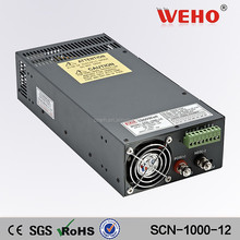 Low noise 1000W 12v ac/dc switching power supply led driver smps