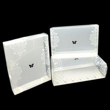 exquisite Polypropylene cosmetic pp packing box gift case good quality