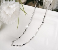 Wholesale wrench chain 100% real silver 925 necklace sterling silver jewelry 45cm (18 inch) pendant necklace with chain