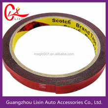 Packing tape Guangzhou manufactory grey foam red film durable adhesion two face tape