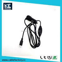 Tablet car adaptor adapter charger 9v 2a / 5v 2a